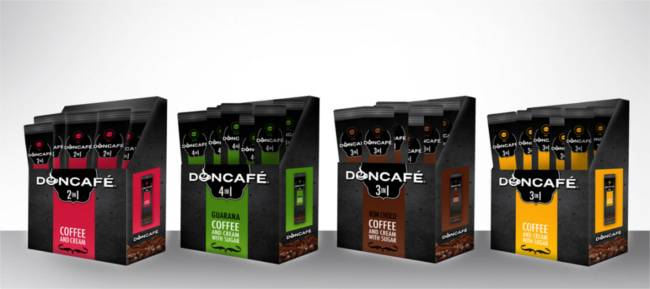 1# Prize (Label & Package Design) in Doncafé 's contest.